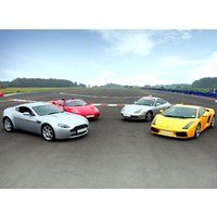 European Supercar Challenge from Experience Frenzy