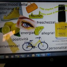 "Campagna ""CND Vinylux, weekly polish"": Quale è il tuo mood? www.cndworld.it"