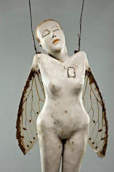 Artodyssey: Cathy Rose - sculpture - folk art - assemblage
