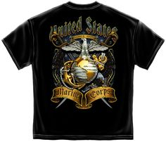 United State Marine Corps USMC DEVIL DOGS Licensed Adult T-Shirt All Sizes