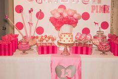 Cameron's VS Pink 13th Birthday Party | CatchMyParty.com