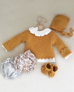 Knitting Patterns Toddler Sweater Girls 32 Ideas For 2019 Baby Knitting Patterns, Knitting For Kids, Fashion Kids, Baby Girl Fashion, Fashion Clothes, Girls Sweaters, Baby Sweaters, Pullover Design, Pull Bebe