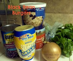 Black Bean Burgers only 2 Weight Watchers Points Plus