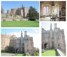 Berkeley Castle in Gloucestershire where Anne Boleyn and Henry VIII stayed during their west country progress of 1535.