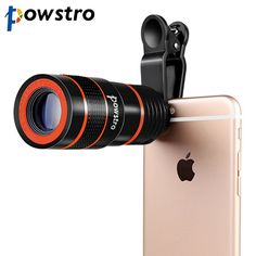 Buy Zoom Optical Phone Lens Telescope Portable Mobile Phone Telephoto Camera Lens and Clip for iPhone Samsung HTC Huawei LG Sony Mobile Camera Lens, Camera Zoom Lens, Big Camera, Zoom Lens For Iphone, Camera Gear, Sony Phone, Phone Lens, Camera Phone, Phone Case