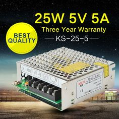 14.99$  Buy here - 5V 5A 25W Power Supply 5V 5A Universal Regulated Switching Power Supply Adapter for LED Strip Light 220 to 5V Power Supply  #magazine