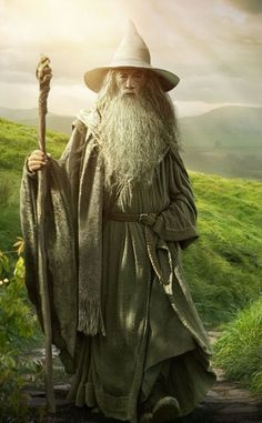 Mithrandir, Gandalf, Olórin, Tharkûn and The White Rider