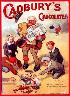 I cioccolatini Cadbury e la magia del Natale.