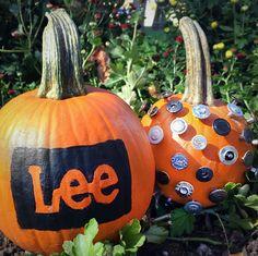 In case your pumpkins need some Lee love… #Halloween #pumpkin