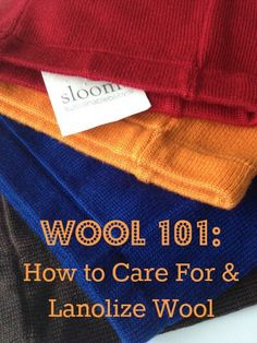 The Cloth Diaper Whisperer: Wool 101 - How to Care For and Lanolize Wool Diaper Covers