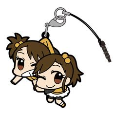 AmiAmi [Character & Hobby Shop]   Anime THE IDOLM@STER - Pinched Strap: Ami & Mami Futami