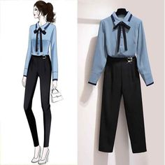 Kpop Fashion Outfits, Girls Fashion Clothes, Edgy Outfits, Cute Casual Outfits, Casual Suit, Korean Girl Fashion, Cute Fashion, Look Fashion, Korean Outfit Street Styles