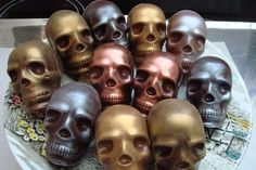 Chocolate + Skulls = a hole lot of lovin' for our friends at Cocomaya