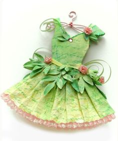how to: fairy dress (template and video tutorial)