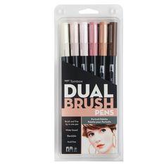 22€ - Tombow Dual Brush Pen Set Portrait