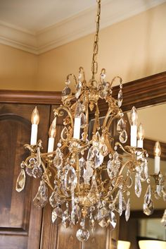 Perhaps you gasped when you looked up and saw the dust on that chandelier in your dining room. Now you're wondering how to get it clean and sparkly before your dinner guests arrive. No need to freak out. You can clean your chandelier quickly without taking it down or tearing it apart.Make sure the...