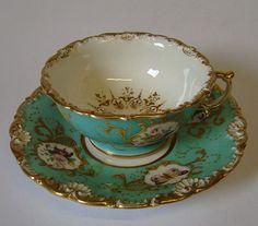 Jacob Petit Porcelain | Fontainebleau Jacob Petit porcelain cup and saucer