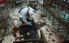 Peshawer school after attack