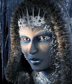 "Web results for ""snow queen"" – Winter MakeUp Snow White Queen, Snow Queen, Ice Queen, Halloween Fashion, Halloween Make Up, Halloween 2013, Ice Makeup, Frozen Makeup, Futuristic Makeup"