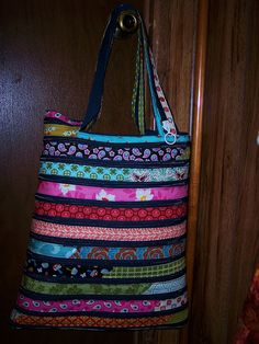 Zip it Bag AFTER by quiltinkimmie, via Flickr