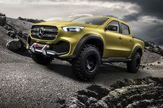 Mercedes Benz X Class Pickup Truck Concept