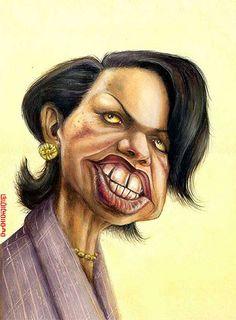 Amin Aghai-Iran/Oct.,13,2011 Condoleeza Rice