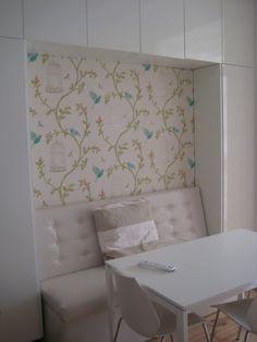 Lovely Wallpaper - Birdcage Walk by Nina Campbell
