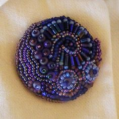 Beaded Button > Destashification Project