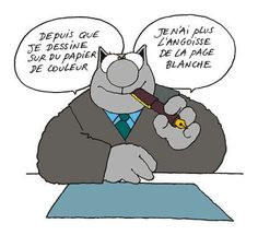 Le Chat - Geluck Caricature, Laugh Out Loud, Haha, Funny Quotes, Blog, Family Guy, Jokes, Cartoon, Reading
