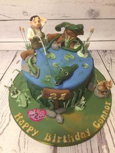 Reptile Fisherman cake by Love2bake - Dec 2016