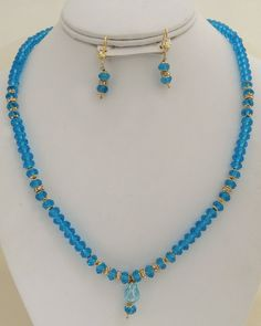 trendy fashion blue beaded necklace-BDD11  http://www.craftandjewel.com/servlet/the-822/trendy-fashion-blue-beaded/Detail
