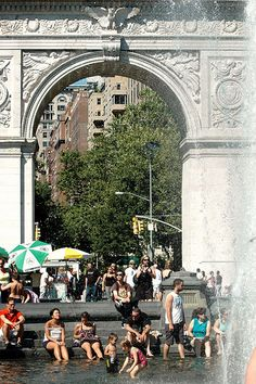NYC Summer Fun in Washington Square Park