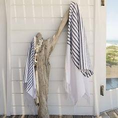 coastal towel rack