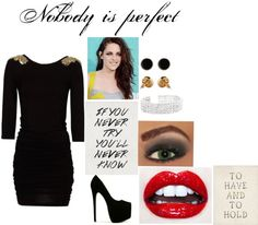 """""""Nobody is Perfect"""" by nikkitha-horan on Polyvore"""
