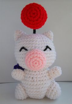 Moogle my boyfriend wants me to make a 7 foot one of these hahaha I'm that's gonna take a few years