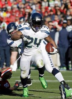 Seahawks Marshawn Lynch