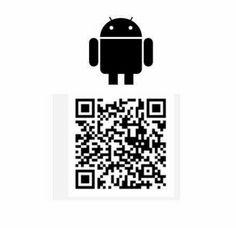 Baixem nosso app pelo nosso QR Code