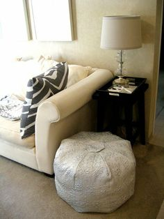 How To: DIY a Moroccan Pouf | Apartment Therapy
