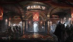 Ezio Hideout from Assassin's Creed: Brotherhood