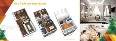 Thiết kế nội thất của nhà ở kết hợp kinh doanh tại Khu đô thị Hồng Vũ Sông Công