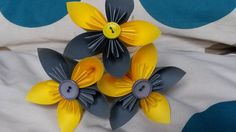 Handmade paper flowers for a first wedding anniversary present - www.handmadeflowers.co.uk