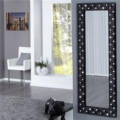 Wandspiegel Model: Boutique - Zwart - x Mirrored Furniture, Classic House, Oversized Mirror, Living Room Decor, Modern Design, Interior Decorating, House Design, Boutique, Home Decor