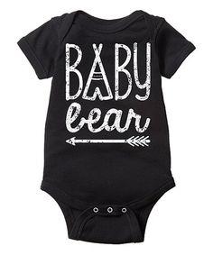 Look at this #zulilyfind! Black Arrow 'Baby Bear' Bodysuit - Infant #zulilyfinds