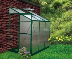 Lean-to Greenhouse Plans   Free Garden Plans - How to build garden projects
