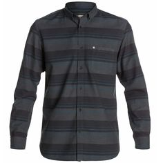 Quiksilver Dark Charcoal Long Sleeve Shirt