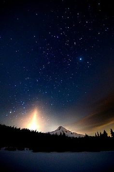 Mt. Hood, Oregon - by Nathaniel Reinhart