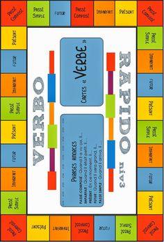 Bon samedi! Aujourd'hui, je vous présente 4 différentes idées pour aider vos élèves à conjuguer les verbes dans la salle de classe....