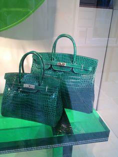§Lovely green from Hermes Window