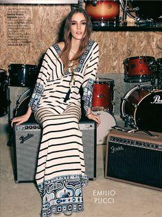"""Duchess Dior: """"Rock n Rolla"""" Stina Olsson for ELLE Turkey March 2015"""