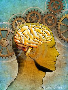 Thinking brain by Andreus, via Dreamstime